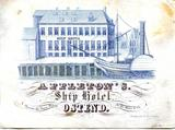 Ostende Appleton's ship hotel