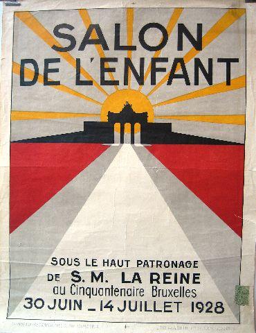 Salon de l 39 enfant 1928 ma maison de papier - Maison de l enfance salon de provence ...