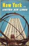 New York via Unites Air Lines